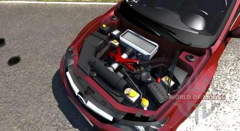 Subaru Impreza WRX STI 2011 for BeamNG Drive