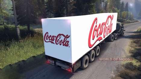 Semi-Coca-Cola for Spin Tires