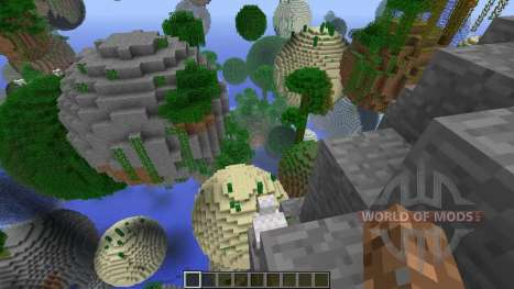 The new generator for Minecraft