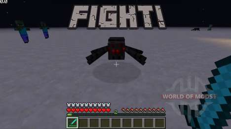 Fighting music for Minecraft