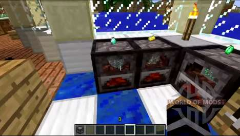 A new model of the stove for Minecraft