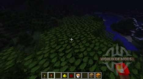 Dynamic lighting for Minecraft