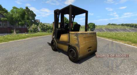 DSC Forklift for BeamNG Drive