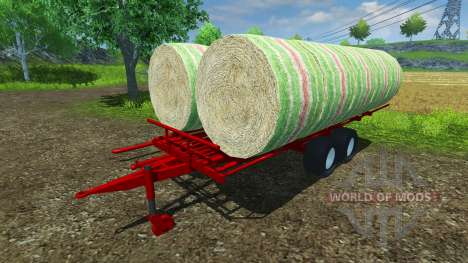 The pick of the round bales for Farming Simulator 2013
