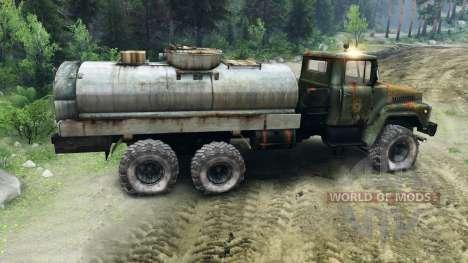 KrAZ-260 v1.1 for Spin Tires