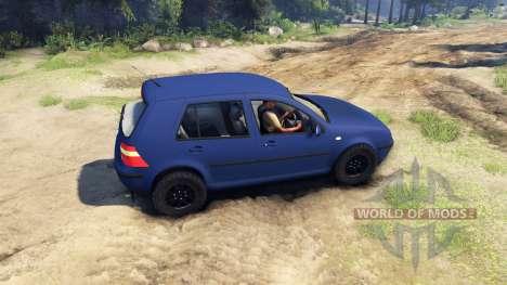 Volkswagen Golf IV for Spin Tires