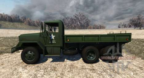 AM General M35A2 1955 for BeamNG Drive
