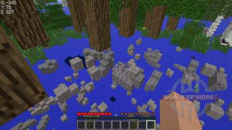 Cheat on transparent blocks for Minecraft