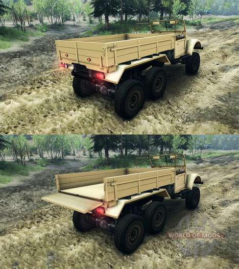 UAZ-456 for Spin Tires