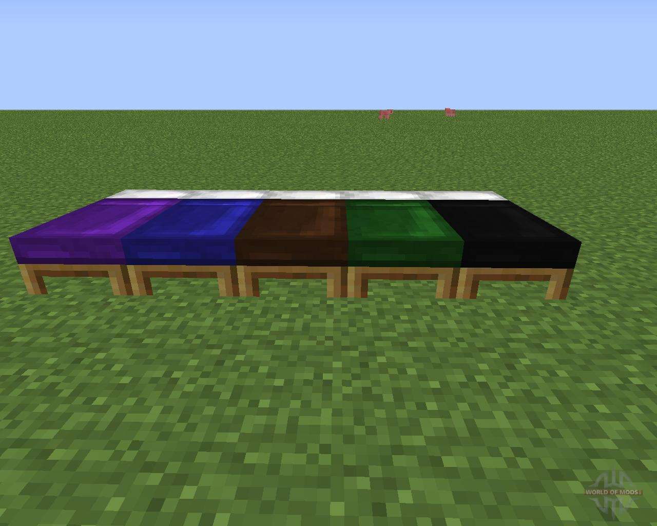 Beds for minecraft dyeable beds for minecraft geotapseo Gallery