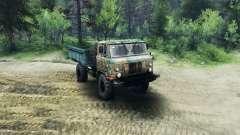 GAZ-66 v1.1 for Spin Tires