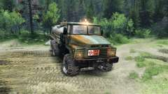 KrAZ-260 v1.1 for Spin Tires