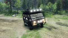 UAZ-3909 off-road v3.0 for Spin Tires