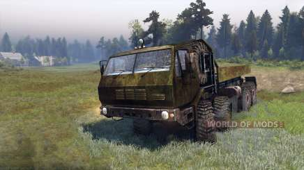 KrAZ-A for Spin Tires