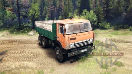 KamAZ-55102 for Spin Tires