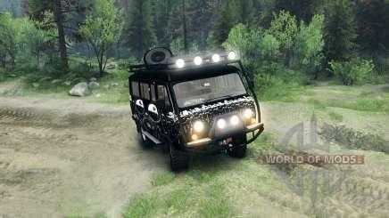 UAZ-3909 off-road v3.0 for Spin Tires