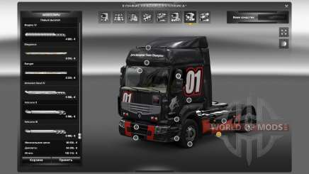 Outdoor accessories for Euro Truck Simulator 2