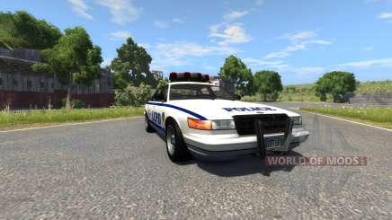 Vapid Police Cruiser for BeamNG Drive