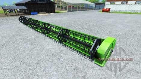 Deutz-Fahr Cutter 7545 RTS XL for Farming Simulator 2013