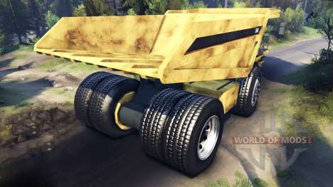 Dump truck [Updated] for Spin Tires
