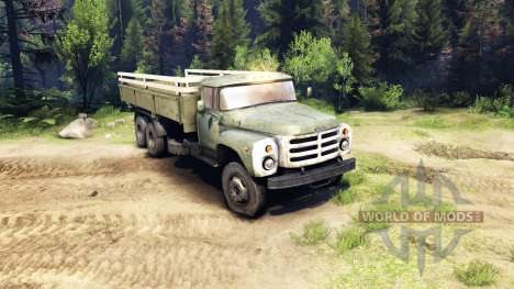 ZIL-133 G1 for Spin Tires