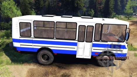 PAZ-3205 for Spin Tires