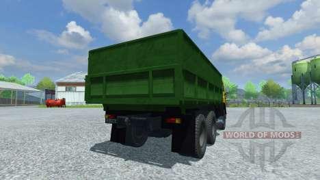 KamAZ-55102 for Farming Simulator 2013