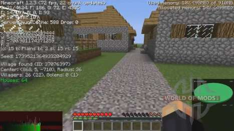 Information about the villages for Minecraft