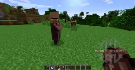 Remove the nose from local residents for Minecraft