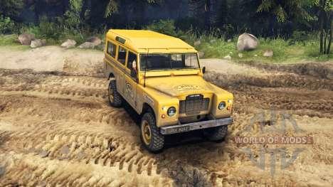 Land Rover Defender Camel Trophy Siberia for Spin Tires