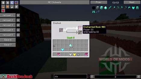Enchvil for Minecraft