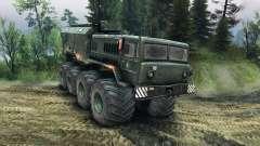 MAZ-535 Monster for Spin Tires