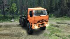 KamAZ-6520 Monster for Spin Tires