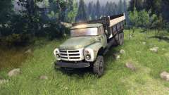 ZIL-133 GA for Spin Tires