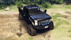 Ford F-350 Super Duty 6.8 2008 for Spin Tires