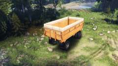 Trailer KAMAZ v2 for Spin Tires