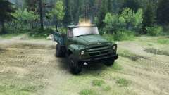 ZIL-130 in a new color for Spin Tires