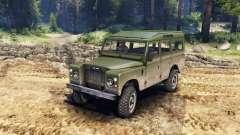 Land Rover Defender Olive for Spin Tires