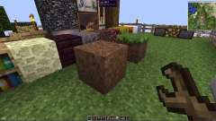 Flipping blocks for Minecraft