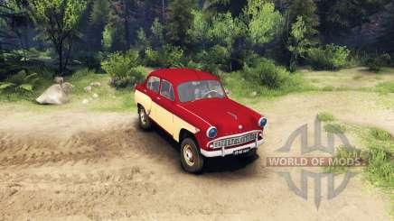 Moskvich-407 for Spin Tires