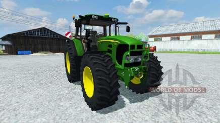 John Deere 753 Premium v2.0 for Farming Simulator 2013
