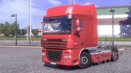 DAF XF 105.510 Jelle Schouwstra for Euro Truck Simulator 2