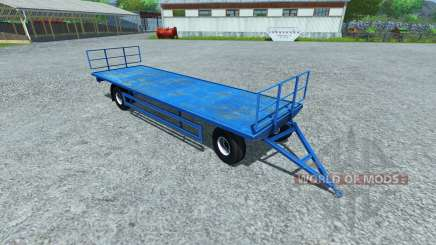 Trailer for pallets LIZARD for Farming Simulator 2013