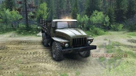 Ural-4320-Board- for Spin Tires
