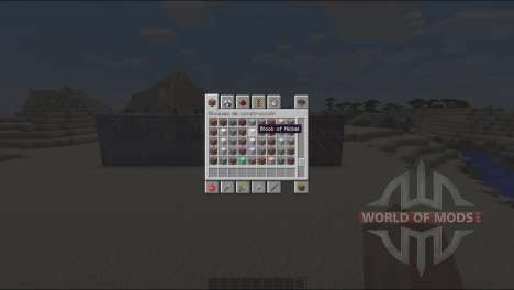 New ore for Minecraft