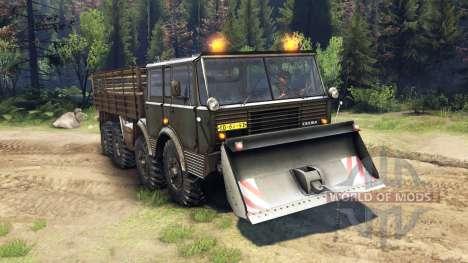Tatra 813 8x8 KOLOS v1.1 for Spin Tires