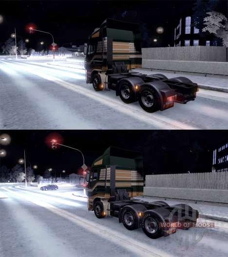 Full winter for Euro Truck Simulator 2
