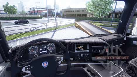 Interior for Scania-Leather- for Euro Truck Simulator 2
