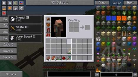 Armor-mob for Minecraft