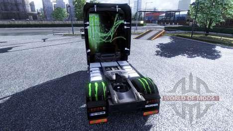 Color-Monster Energy - truck Scania for Euro Truck Simulator 2